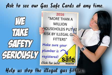 Image says Please Check our Gas Safe Cards