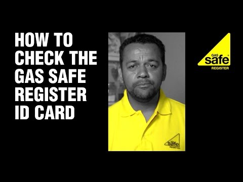 How to Make Sure Your Plumber has the Right Gas Safe ID Card