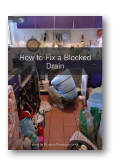 Flat cover image for How to Fix a Blocked Drain ebook.