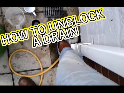 How to Fix a Blocked Drain