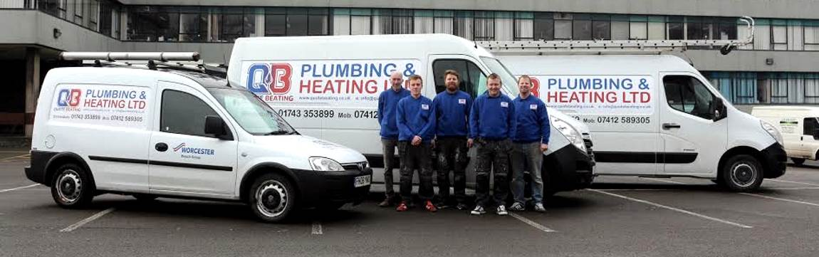 Image showing QuoteBeating Plumbing and Heating team with vans