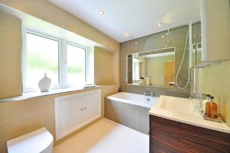 Plumbers luxury bathroom