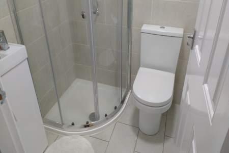 plumbing shower installation