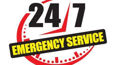 24 hour emergency response service