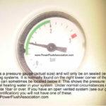boiler pressure gauge