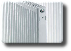 Image of a radiator to illustrate the how to get rid of radiator sludge.
