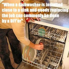 installing a dishwasher explained