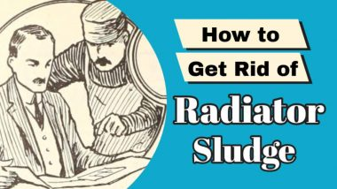 How to get rid of radiator sludge featured image.