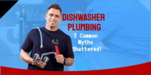 Featured image for the article Dishwater Plumbing & How A Dishwasher Works.